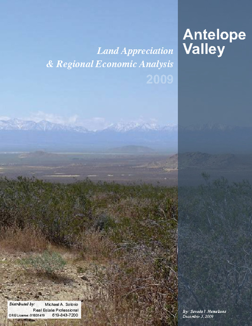 Land Appreciation Study