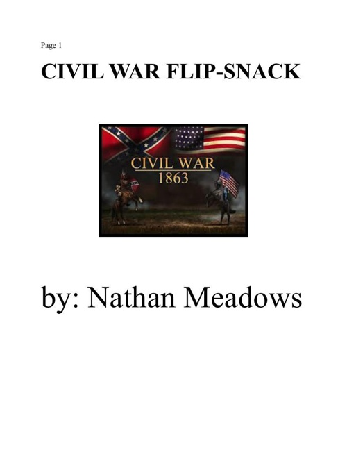 Civil War Flipsnack