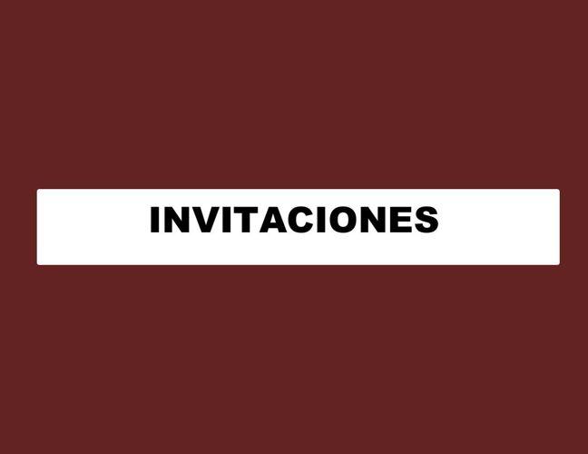 INVITACIONES  8