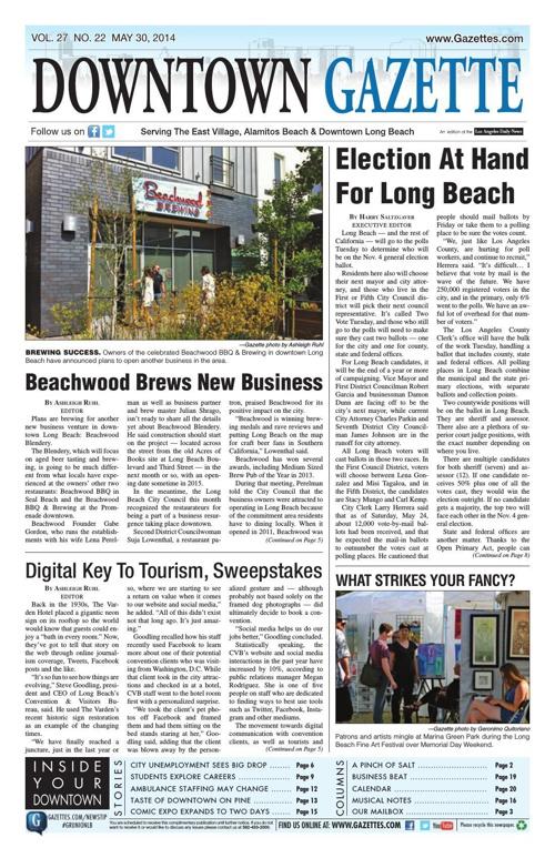 Downtown Gazette 5-30-14