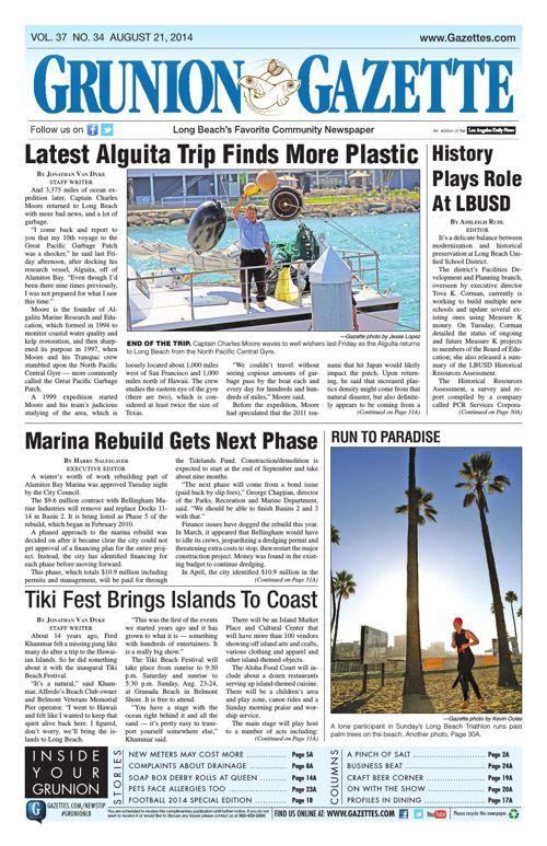 Grunion Gazette | August 21, 2014