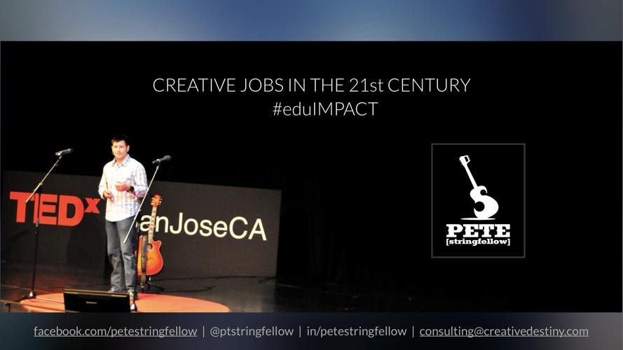 Creative Jobs in the 21st Century