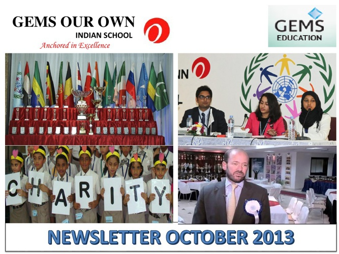 NEWSLETTER OCTOBER 13