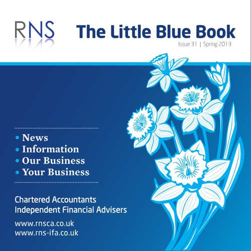 The Little Blue Book - Spring 2013