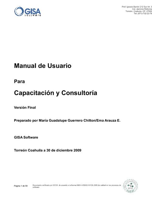 Manual CYC