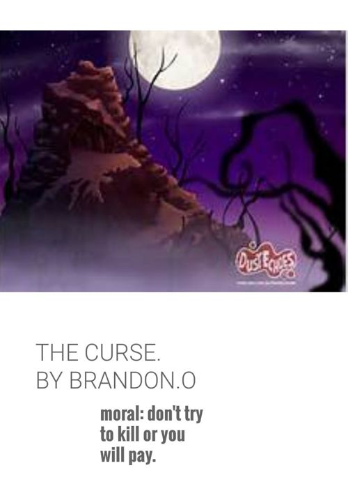 the curse by brandon. ogera