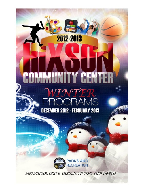 Hixson CC Winter Brochure 2012-13