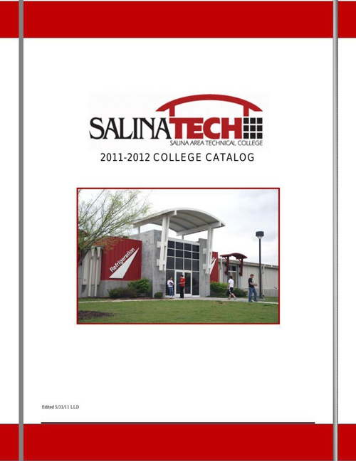SATC College Catalog 2011 - 12