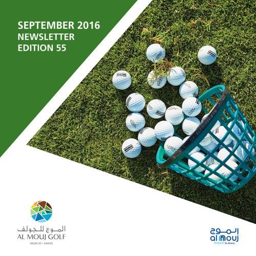 Almouj Golf September Newsletter 2016