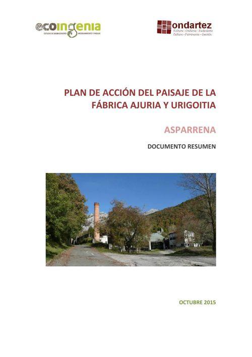 Resumen Plan paisaje Ajuria y Urigoitia