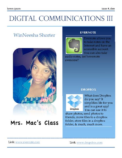 My Flipsnack on Digital communications