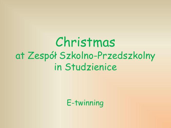 Christmas at Zespół Szkolno-Przedszkolny