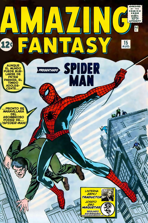Spiderman Amazing Fantasy #01