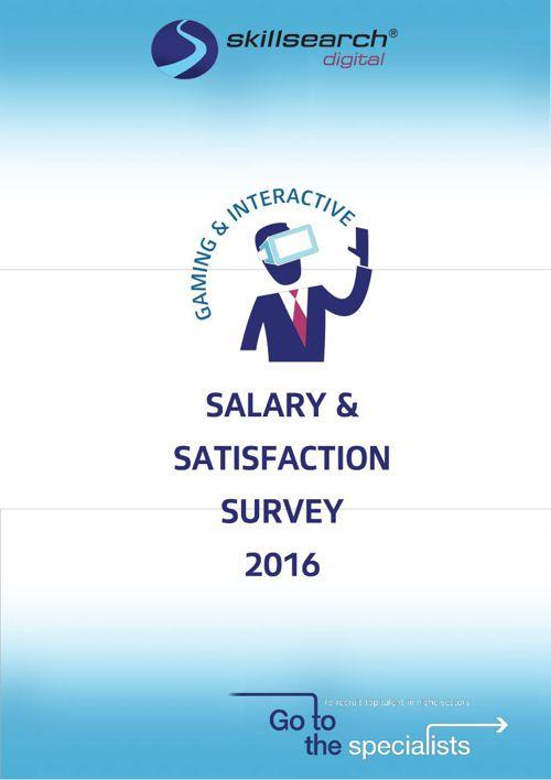 Salary & Satisfaction Survey 2016
