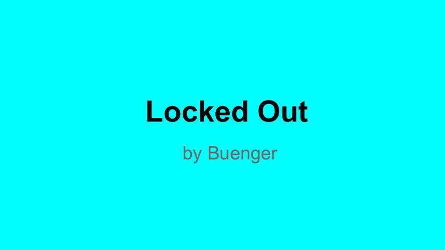 Personal Narrative - Publish It! - Berlyn Buenger