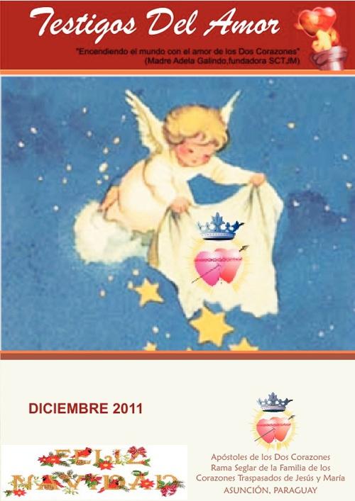 Revista TESTIGOS DEL AMOR - Diciembre 2011