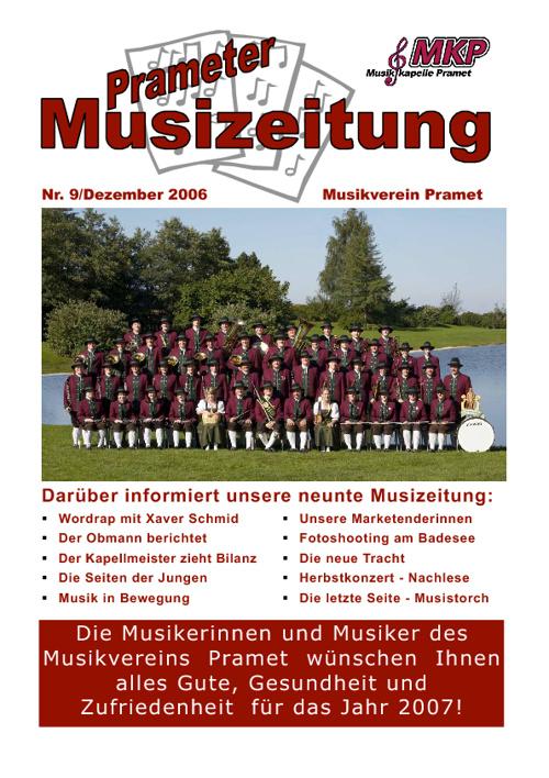 Musizeitung 2006 (Teil 1)