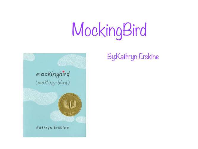 mocking bird the book