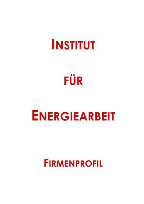 Firmenprofil Institut für Energiearbeit