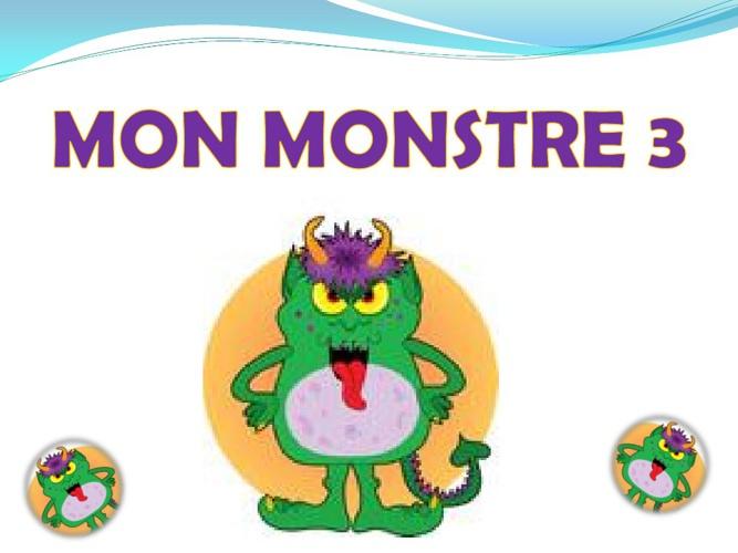 Mon Monstre 3