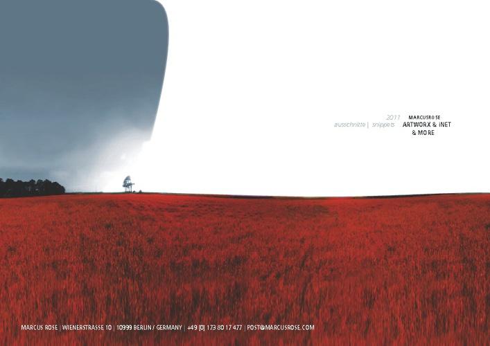marcusrose || GFX && iNet ShowReel 2011 -- Webversion