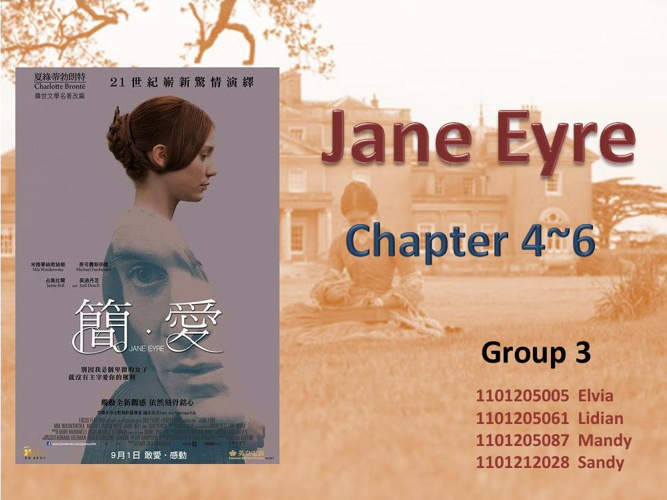 Jane Eyre- Novel Presentation