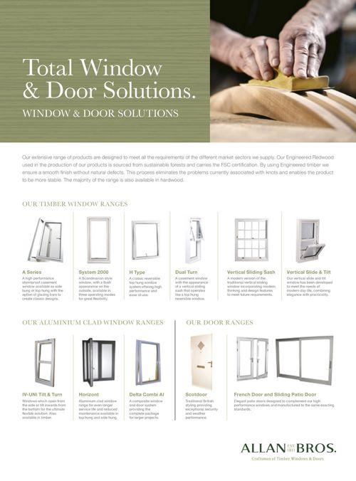 Timber  Windows + Door alan bros