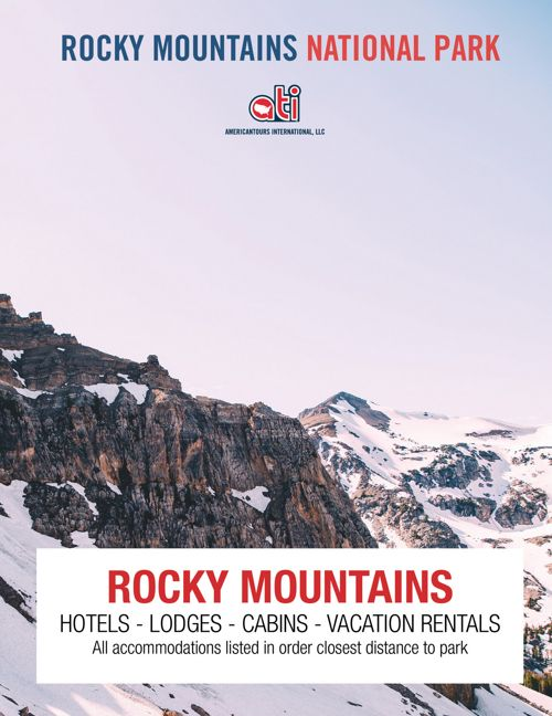 Rocky Mountains National Park Brochure