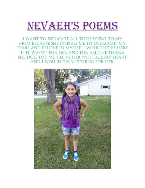 Nevaeh DeKeyser poems