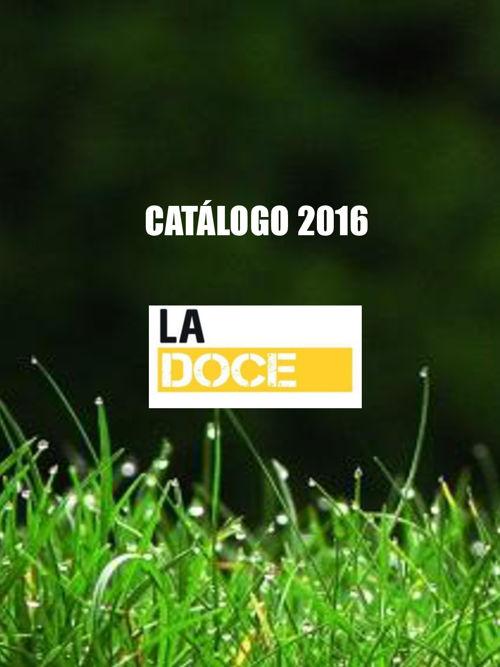 CATÁLOGO LA DOCE 2016