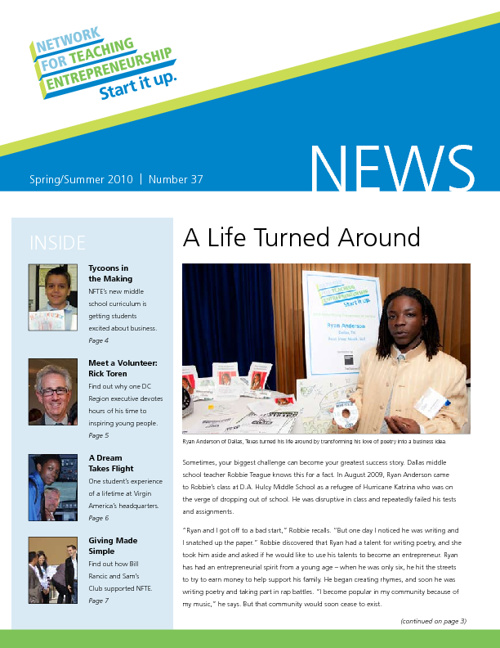 Spring/Summer Newsletter 2010