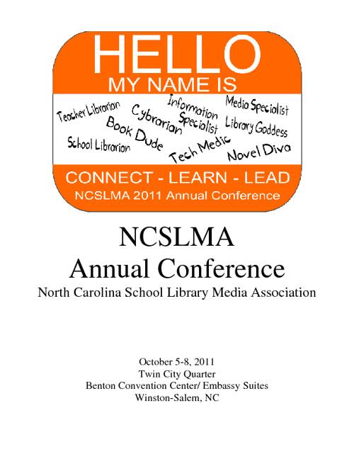 NCSLMA Conference 2011