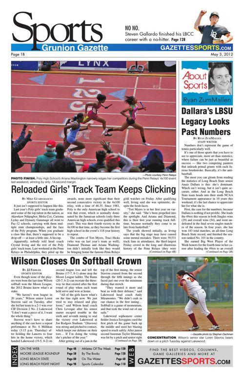 Gazette Sports | May 3, 2012