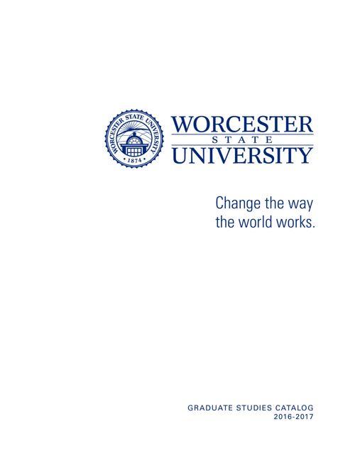 Graduate Catalog 2016-17