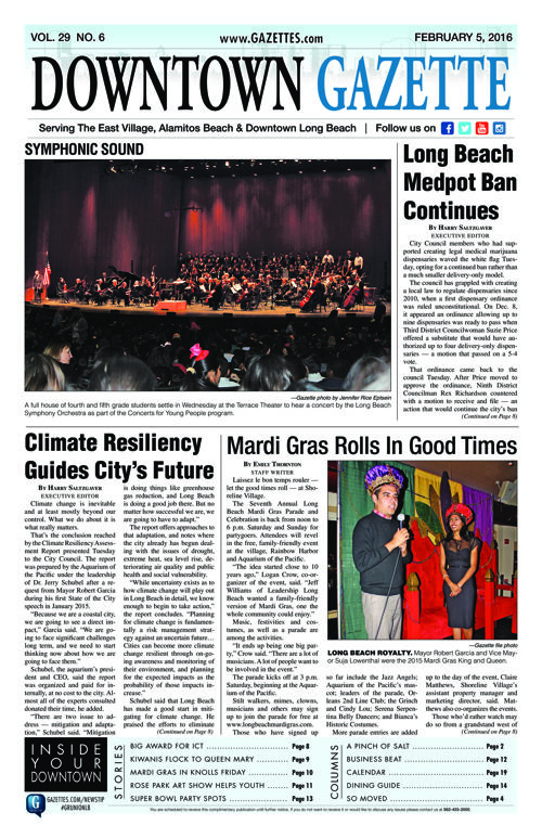 Downtown Gazette  |  February 5, 2016
