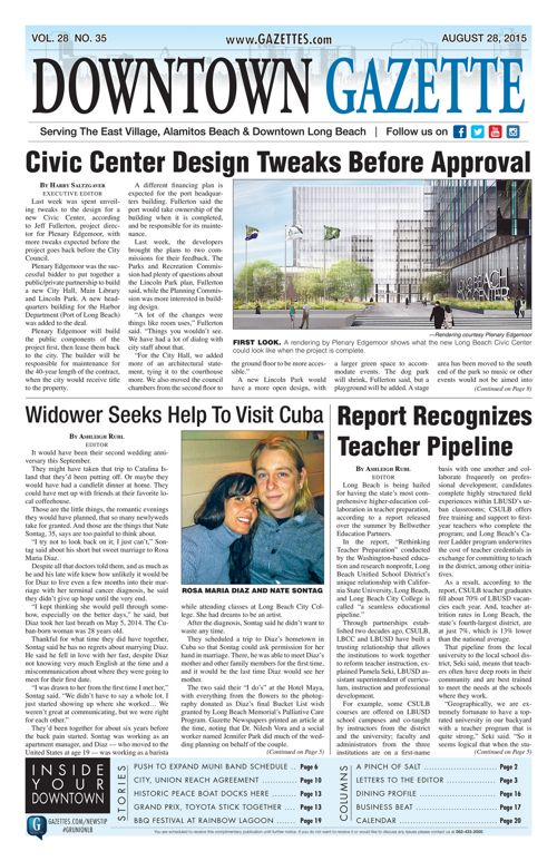 Downtown Gazette  |  August 28, 2015