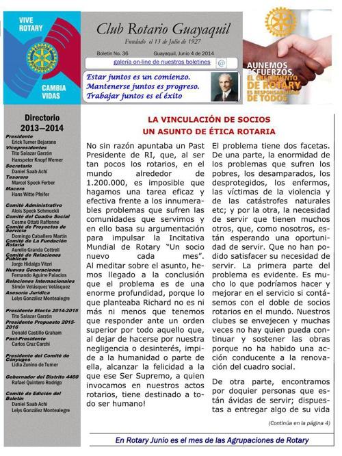 Boletines 2013 - 2014 CRG