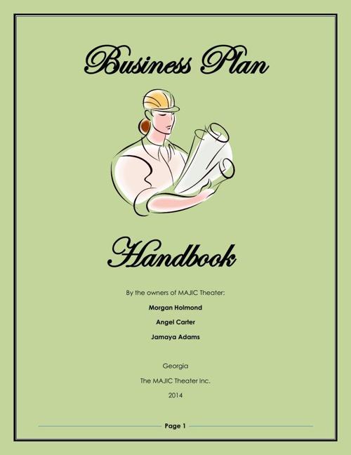 21May14 Business Plan Handbook