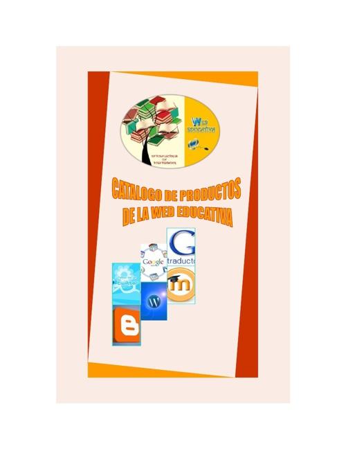 CATALOGO DE PRODUCTOS WEB EDUCATIVA