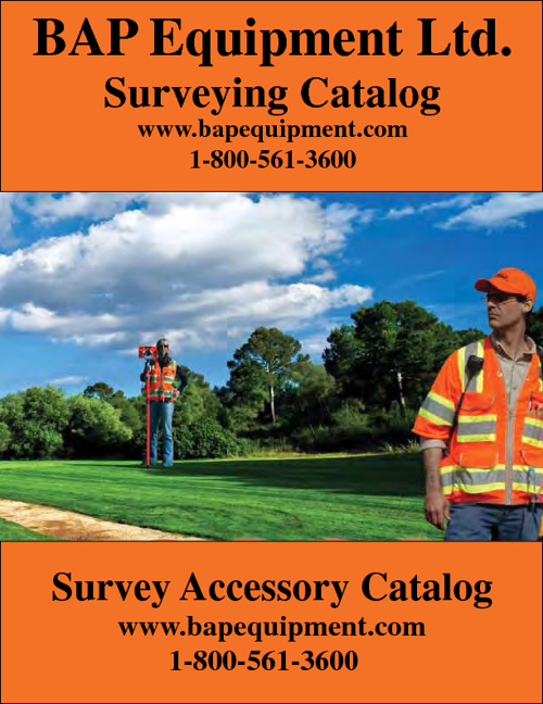 BAP Equipment Ltd. Surveying Equipment Catalog