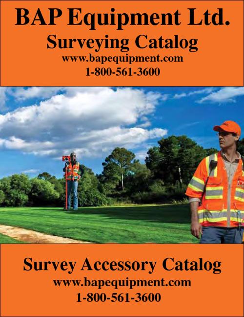 BAP Equipment Ltd. Surveying Equipment Catalog