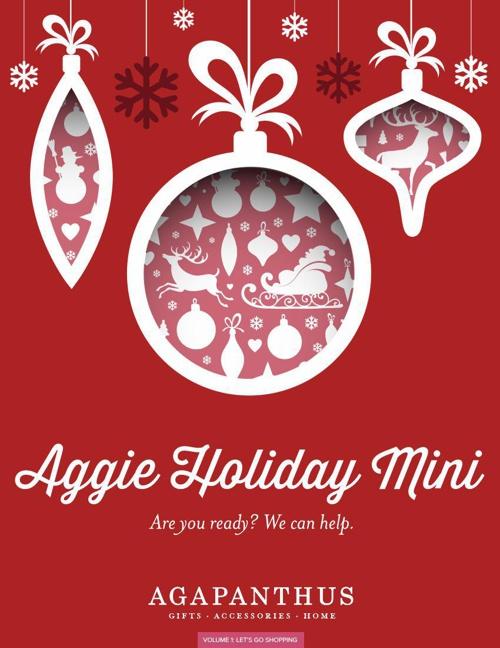 Aggie Holiday Mini Volume 1-Let's Go Shopping