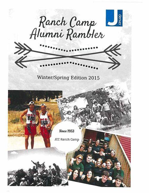 Ranch Camp Alumni Rambler - Winter/Spring 2015