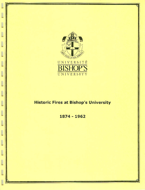 Copy of Bishop's University Archives