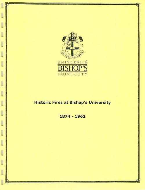 Copy of Bishop's University Archives