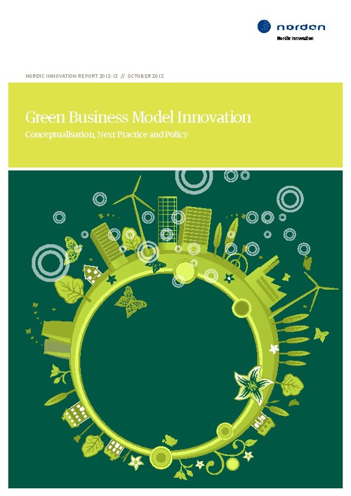 GREEN BUSINESS MODEL