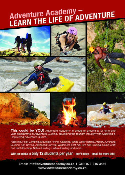 Adventure Academy Prospectus - Full Year Programme