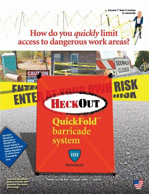 HeckOut QuickFold Barricades by HalenHardy 9-18