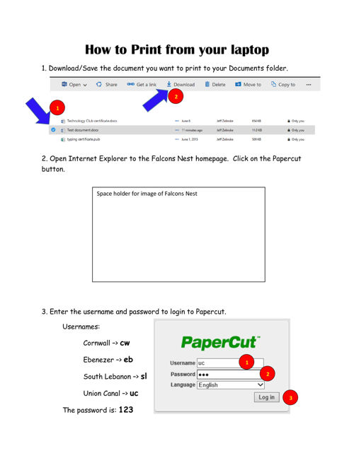 papercut how-to