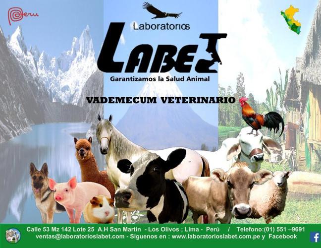productos veterinarios LABET SAC